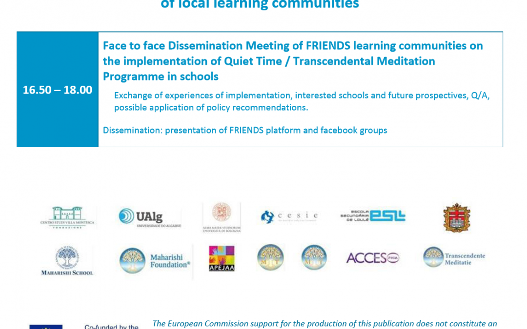 2° Face to face dissemination meeting in Lisbon